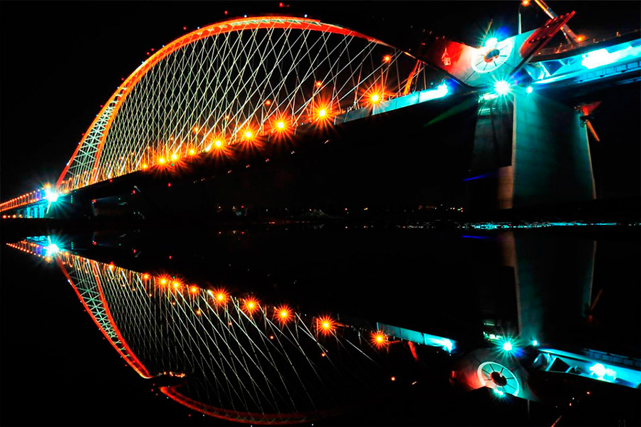 Развязки Бугринского моста