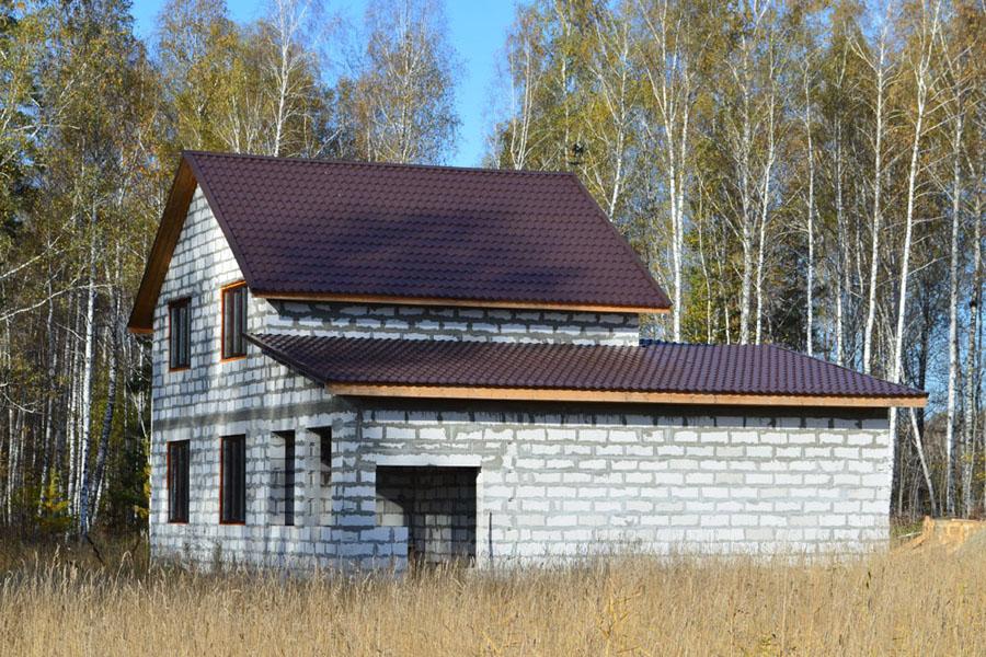 Дом из сибита  - проверенной альтернативы классическому кирпичу.