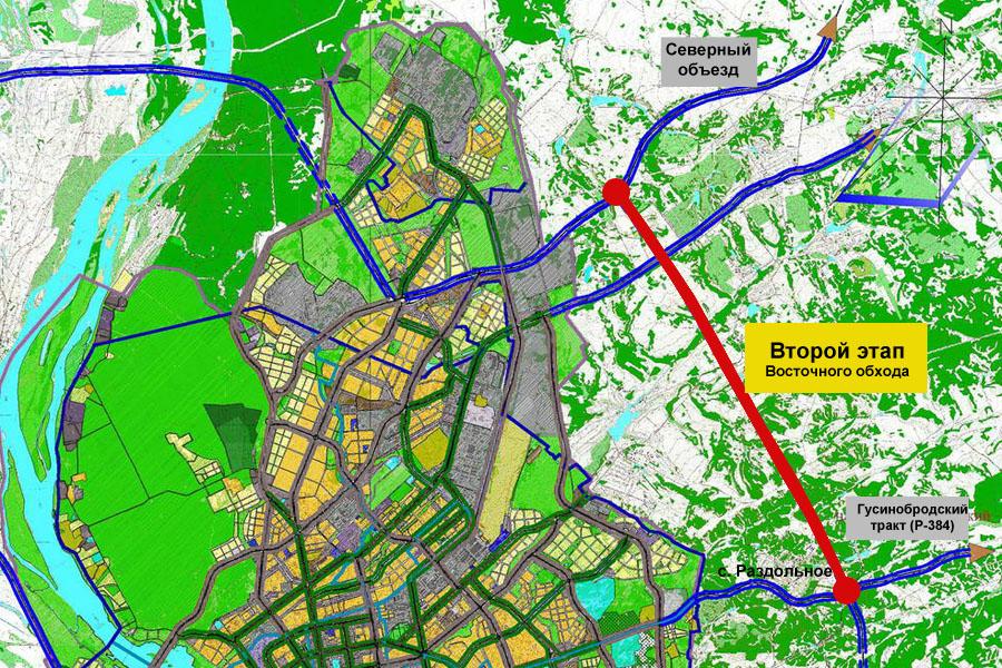 Карта Новосибирска: улицы